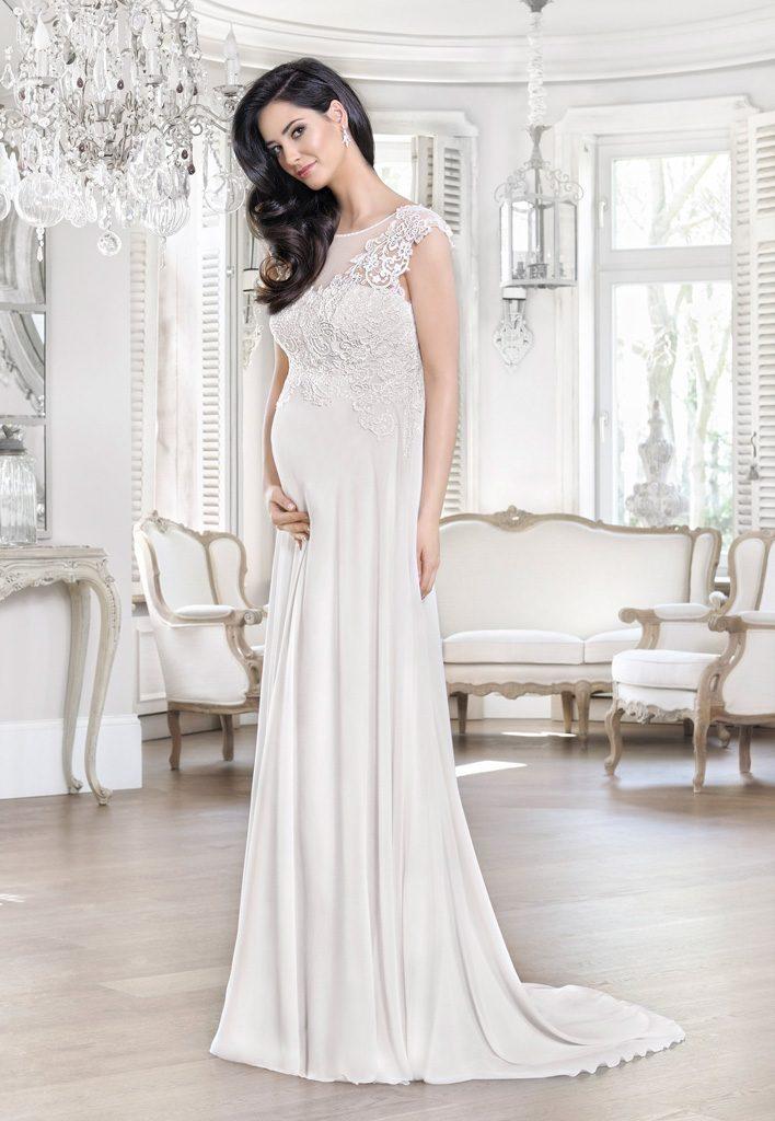 Brautkleider Fur Schwangere Umstandsmode Fur Die Hochzeit