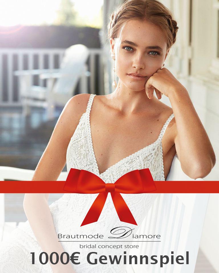 Brautmode Diamore Gewinnspiel